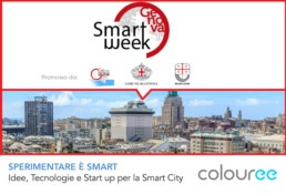 Colouree alla Genova smart week Sperimentare è Smart Startup innovazione