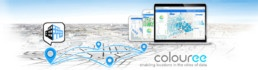 Colouree-smart city solution analytics geo-reffered data