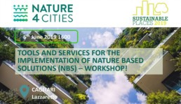 Colouree presenta i tool di Nature4cities all'evento Sustainable-places 2019