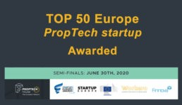 Colouree Top-50 proptech startup in europa
