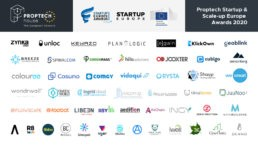 Colouree nelle top-50 startup proptech semi finaliste al proptech startup awards